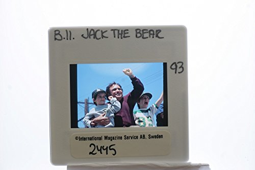 Slides photo of Danny DeVito, Robert J. Steinmiller Jr. and Miko Hughes prominent in Jack the Bear.