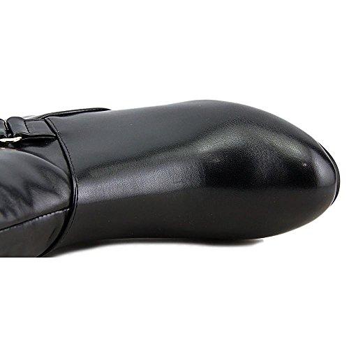Karen Scott Womens Harloww Almond Toe Knee Alta Moda Stivali Blk