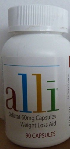 Alli ORLISTAT DIET 90 60 mg CAPSULES WEIGHT LOSS AID Refill Pack
