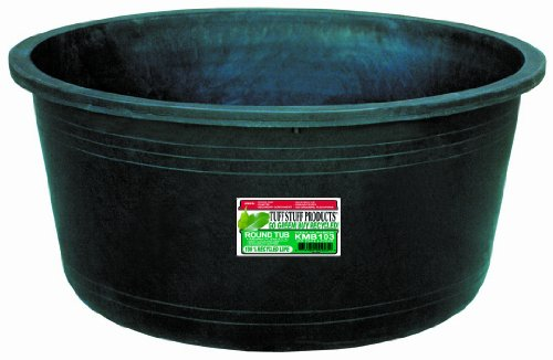 KMB103 Circular Tub, 25-Gallon (Round Feeder Tub)