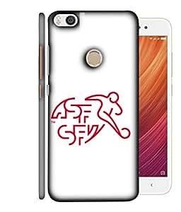 ColorKing Football Switzerland 06 White shell case cover for Xiaomi Mi Max 2
