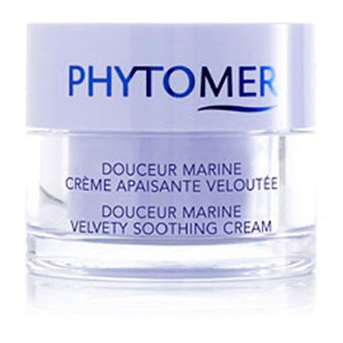 Velvety Soothing Skin Cream (Phytomer Douceur Marine Velvety Soothing Cream 1.6 fl oz (Qunatity of 1))