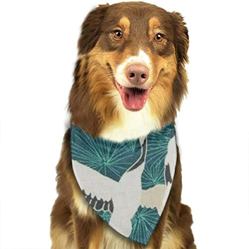 JWKSY Dog Bandana Scarf Cranberries Triangle Bibs Printing Kerchief Set Accessories Dogs Cats Pets