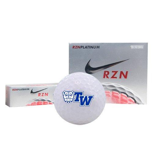 CollegeFanGear Tennessee Wesleyan Callaway Chrome Soft Golf Balls 12/pkg 'Official Logo' by CollegeFanGear