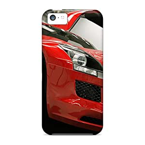 New Customized Design Mercedes Benz Sls For Iphone 5c Cases Comfortable For Lovers And Friends For Christmas Gifts