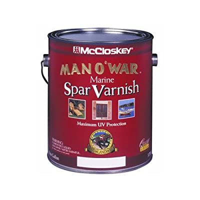 McClosky Man O War 80-7507 Spar Varnish-Low VOC, Semi-Gloss ~ One Gallon