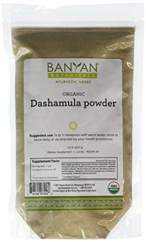 Banyan Botanicals Dashamula Powder - Certified Organic, 1/2