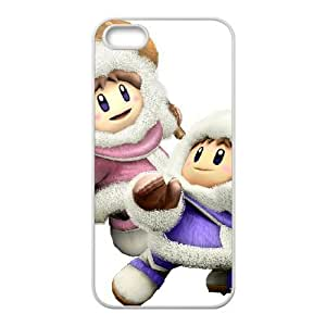 iPhone 5 5s Cell Phone Case White Super Smash Bros Ice Climbers 004 Gaqbg