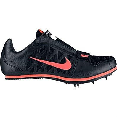 online retailer 8f849 6b564 NIKE Herren Laufschuhe Zoom LJ 4 Zacken Track Field Sportschuhe Schuhe,  Schwarz - schwarz