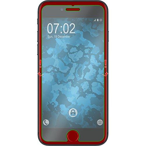 3 x Apple iPhone 8 Pellicola Protettiva Vetro Temperato chiaro - PhoneNatic Pellicole Protettive