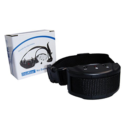 (ALEKO TS-BC052 Anti-Bark Collar Adjustable Sensitivity Dog Collar)
