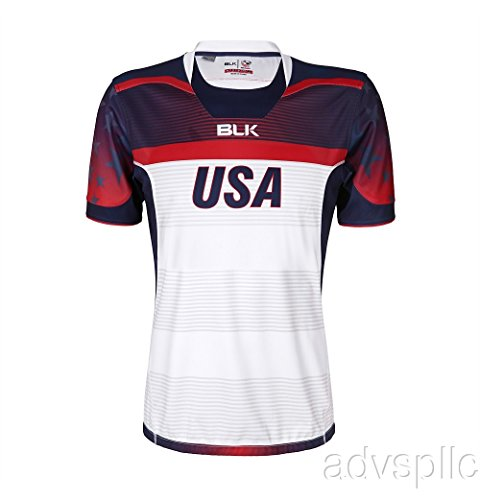 BLK USA Olympic 7s Home Replica Jersey 2016