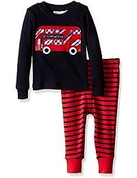 JoJo Maman Bebe Baby Boys' Skinny Fit Rib Pyjamas (Baby)