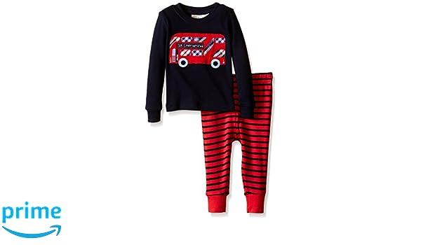 Amazon.com: JoJo Maman Bébé Kids Skinny Fit Rib Pajamas, Bus, 6-12 Months: Clothing