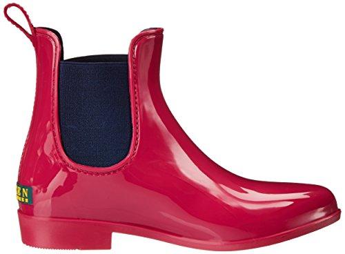 Polyvinyl Modern Boot Rain Elastic Lauren Lauren Pink Ralph Solid Cruise Women's Chloride Tally Navy O4qPFFA8Ww