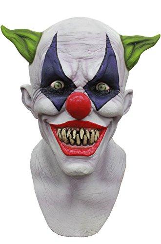 Mememall Fashion Creepy Giggles Horror Circus Clown Adult Full Mask