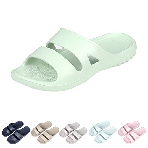 Sandal Slippers Soft Ultra Lightweight Bath Slippers 29GN-M ()