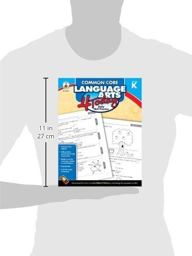 Amazon.com: Common Core Language Arts 4 Today, Grade K: Daily ...