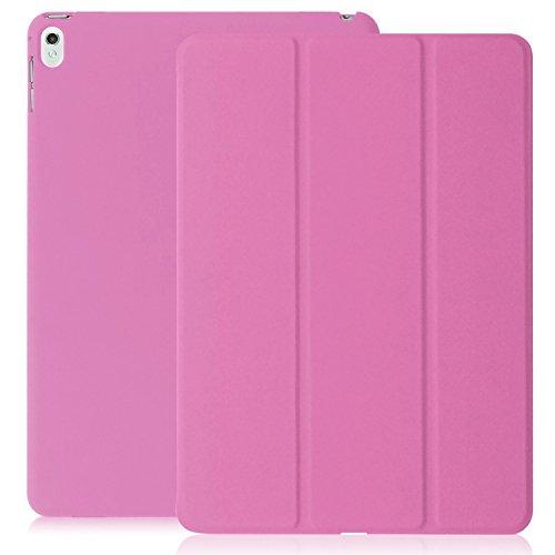 Super Slim Smart Cover Case for Apple iPad Pro 9.7 (Pink) - 2