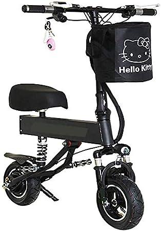 TONGS Bicicleta Eléctrica Scooter Eléctrico de 2 Ruedas para Adultos Batería de Litio Doble Doble Choque de Bicicletas de Frenos Amigable con el medio: Amazon.es: Bricolaje y herramientas