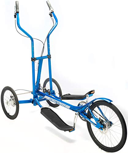 StreetStrider 7i Outdoor + Indoor Elliptical Cross Trainer, Blue