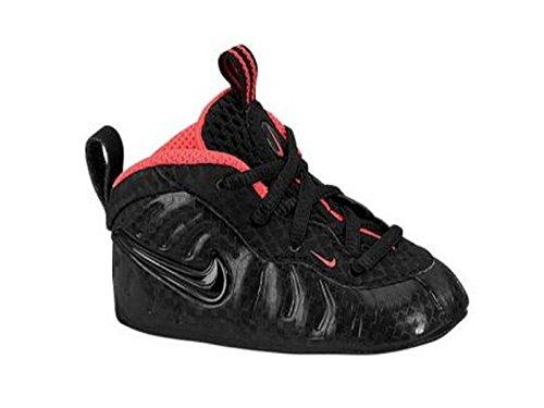Nike Lil' Posite Pro (CB) 643145 001 Black / Black-Laser Crimson Size 4c