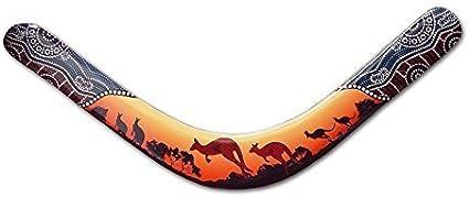 Amazon.com: Kangaroo Pelican Boomerang - Authentic Australian ...