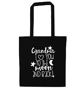 Grandma I Love You a la luna y parte posterior Tote Bag | bolsa de hombro