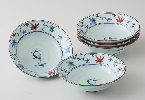 Heron Karakusa Medium Bowl by Hama pot (Image #1)