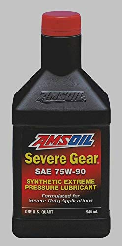 Amsoil Severe Gear 75w 90 Amazon Com >> Amazon Com Amsoil Full Synthetic Severe Gear Lube 75w 90 1 Quart