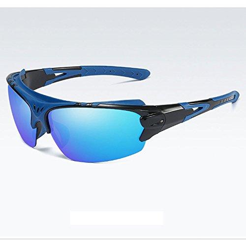 118 hombre mm azul amp;X sol x para de Z rojo Gafas polarizadas 46 UwqZngz