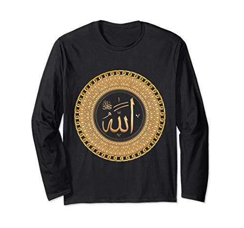 Figure Arabic Names of Allah Long Sleeve T-Shirt