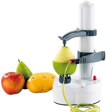Compra Rosestein - Pelador eléctrico para Patatas, Manzana, Pera, Kiwi, Pesca + Cuchilla de Repuesto en Amazon.es