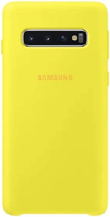 Silicone Cover Für Galaxy S10 Gelb Elektronik