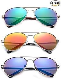 Newbee Fashion - Kyra Kids Popular Aviator Flash/Mirrored...