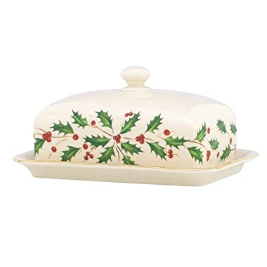 Lenox Holiday Covered Butter