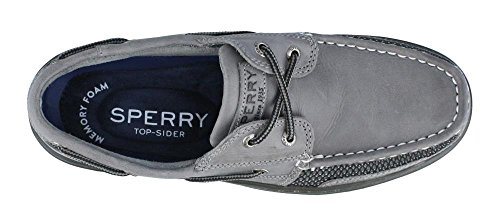 Sperry Men's Tarpon Ultralite Boat Shoe Grey/Black discount best wholesale extremely clearance visit bIt7Rf