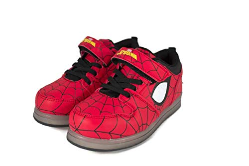 Image of Favorite Characters Spiderman Motion Lighted Athletic Shoes (Toddler/Little Kid)