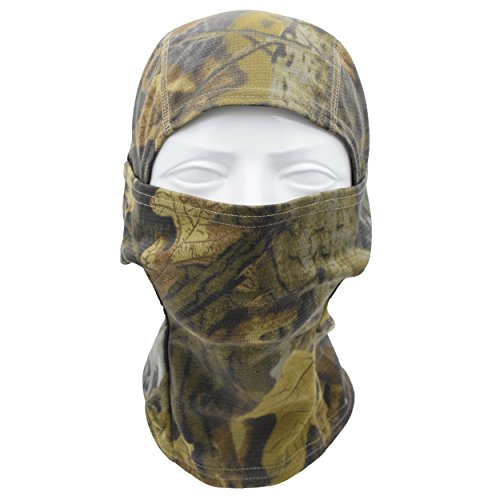 TClian Camouflage Balaclava Full Face mask Ninja hood Millitary Camo Hunting mask