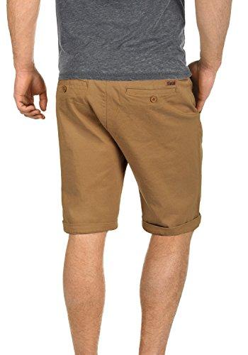 Corti Shorts Chino Cinnamon 5056 Fit Da solid Elasticizzato Regular Uomo Pantaloncini Panno Lamego ZqgnExwCX