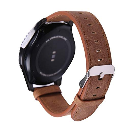 Jewh Leather Band for Samsung Gear S3 - Frontier Strap Gear S3 - Classic Retro Style