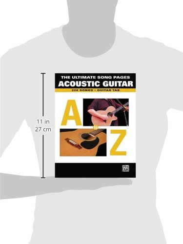 Amazon.com: The Ultimate Song Pages Acoustic Guitar: A To Z ...