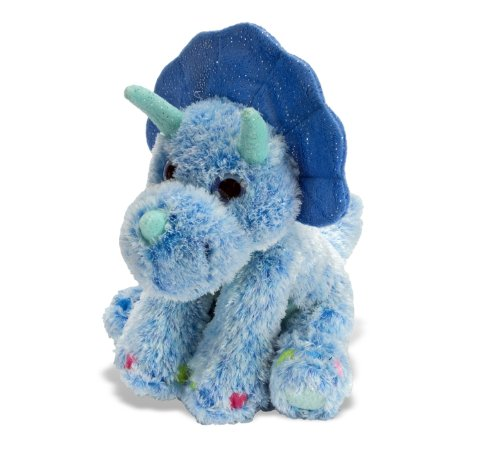 (Wild Republic Triceratops Plush, Stuffed Animal, Plush Toy, Gifts for Kids, Sweet & Sassy 12 Inches)
