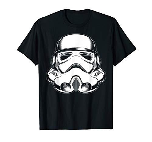 (Star Wars Stormtrooper Helmet Up-Close Faded Graphc)