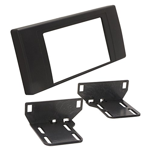 SCOSCHE BW2376DDB 2000-06 BMW X5 Double DIN Stereo Installation Kit