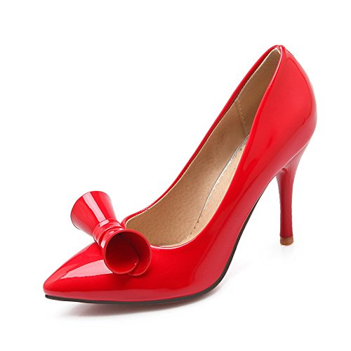 Donna 1to9 Scarpe Col Tacco Red 6wqaaXTZx