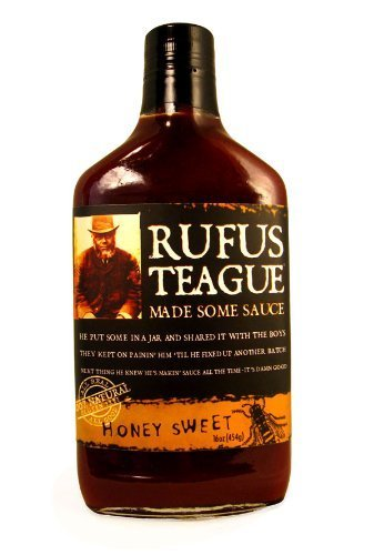 Rufus Teague Honey Sweet BBQ Sauce, 16 oz by Rufus Teague