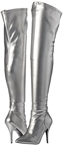 Pleaser Pleaser Faux donna Slv Leather Str 3000 SEDUCE SED3000 B EU Stivali r1wYrqz