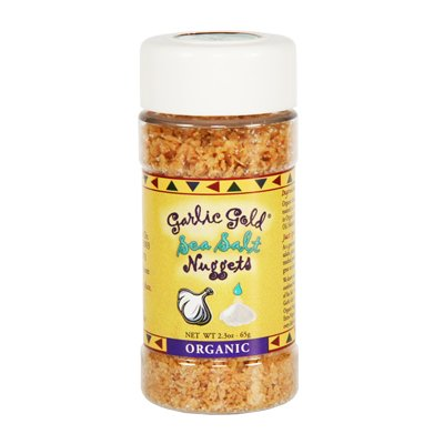 Garlic Gold Organic Nuggets, Sea Salt, 2.3 Ounce