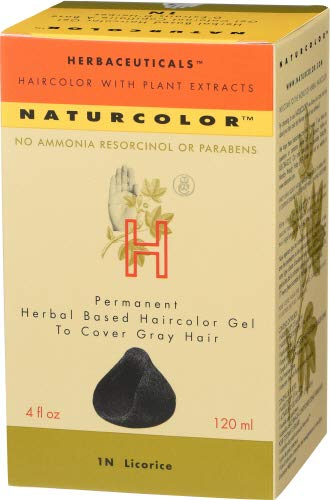 Naturcolor 1N Licorice Hair Dyes, 4 Ounce